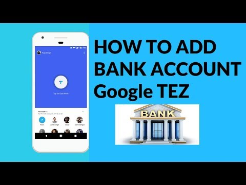 Google Tez How to add bank account And Register Hindi