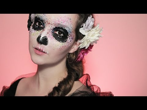 Colourful (Easy) Skull Makeup Tutorial