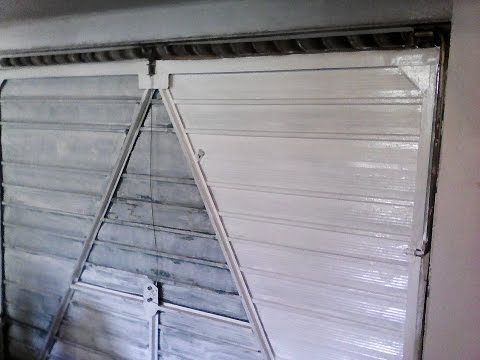 Garage door not opening - cables fix (without replacing cones) + Adjusting spring tension. DIY