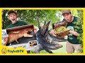 Dinosaur Toy Treasure Hunt Surprise Jurassic World Fallen Kingdom Toys Super Colossal T Rex