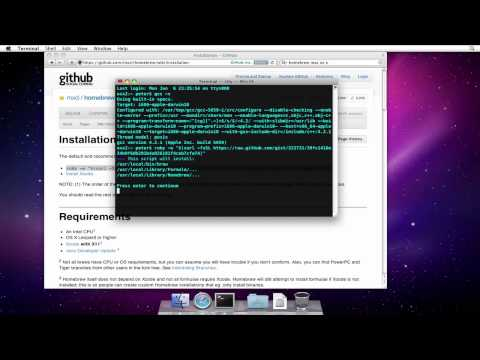 How to Install Homebrew on Mac OS X 10.6 (Snow Leopard)