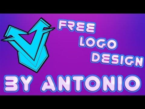 Free Logo Design By Antonio (SpeedArt) [Free Download] =Copyright Strike=