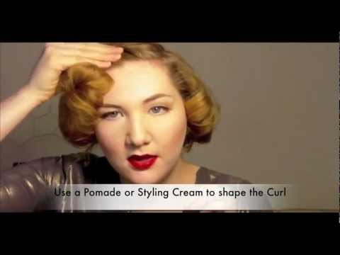 The Marilyn: 1950s Short Hair Glamour Tutorial, Revised and Edited