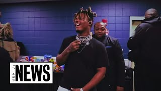"""How Juice WRLD Came To Life In The """"No Me Ame"""" Music Video 