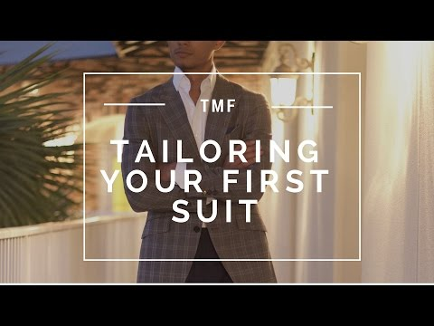 What to Ask Your Tailor When Tailoring Your First Suit
