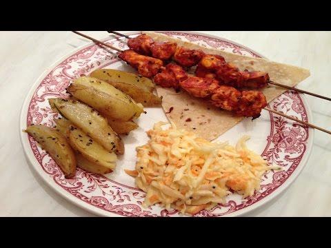 Shish Tawook  Lebanese Grilled Chicken Skewers  -  طريقة تحضير شيش طاووق