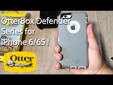 iPhone 6S: OtterBox Defender Series Case | Glacier