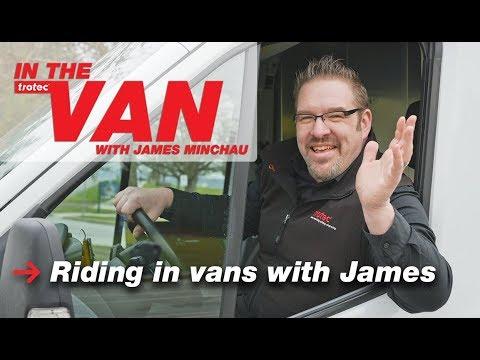 In the Van with James Minchau | Episode 1: Riding in vans with James