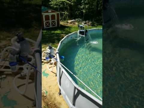 How to remove iron from pool