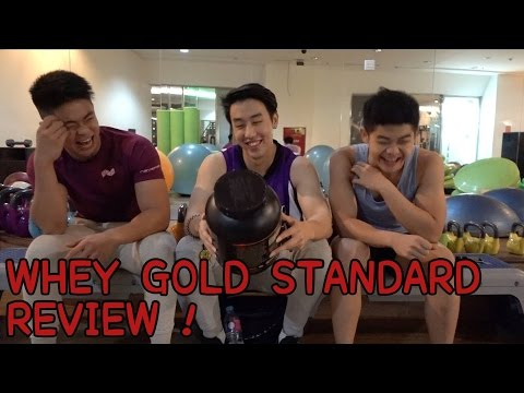 WHEY GOLD STANDARD REVIEW !