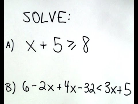❖ Solving Linear Inequalities Made Easy ❖
