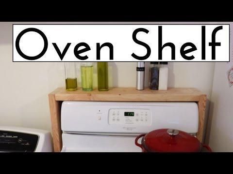 DIY OVEN SHELF