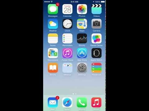 How to change the font size on iPhone 6