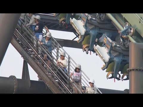 Roller Coaster Riders Stuck Upside Down for Hours at Universal Studios