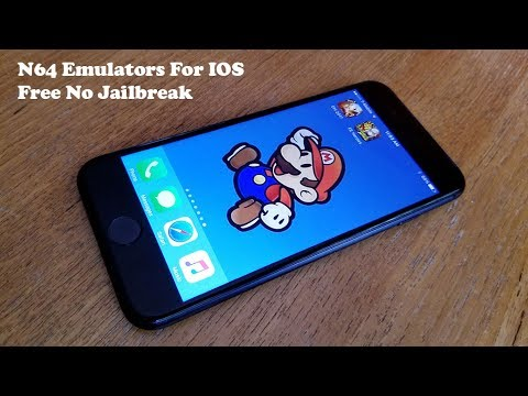 New Get N64 Nintendo 64 Emulator IOS 10/10.3 FREE (NO Jailbreak -Iphone 7/7Plus/6/6Plus/6s/6sPlus