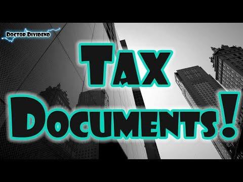 Tax Season TAX DOCUMENTS  | Robinhood APP Free Stock Investing Review!
