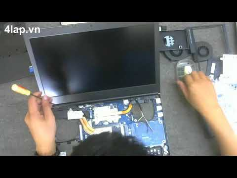 Dell Precision M4800 Laptop Motherboard Replacement