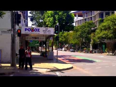 Brisbane Traffic Camera at intersection series