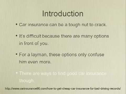 How To Get Less Expensive High-Risk Auto Insurance Policies
