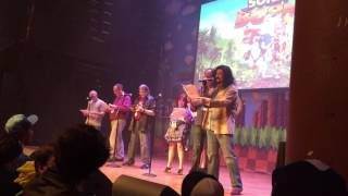 Sonic Boom Voice Actors Comic Con Skit-sonamy Joke At End- Sonic 25th Anniversary Party