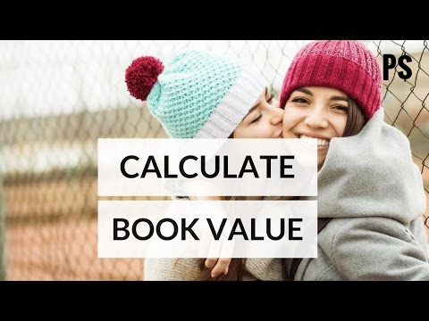 How to Calculate Book Value- Professor Savings