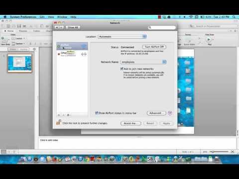MAC OS X MAC address