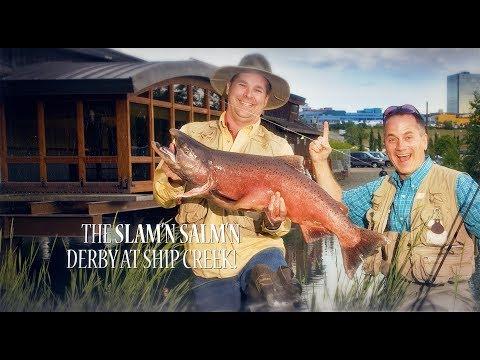 The 2017 Slam'n Salm'n Fishing Derby!
