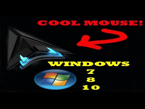 How To Get A SICK Mouse Cursor! Windows 7/8/10 WORKS
