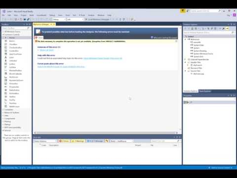 How to add a form in Visual Studio 2017 C++