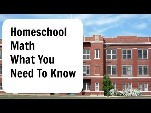 Homeschool Math Curriculum Issues to Consider BEFORE YOU START