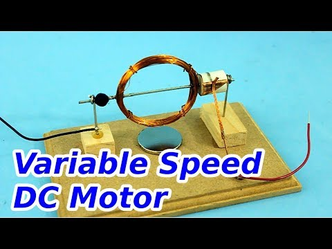 DC Motor with Speed Control