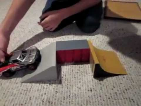 how to make simple rc car ramps