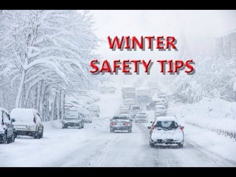 Winter Safety Tips That Could Save Your Life