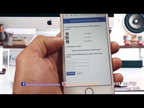 How to Recover Facebook Trusted Contacts On iPhone