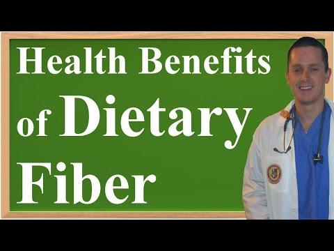The Health Benefits of Dietary Fiber