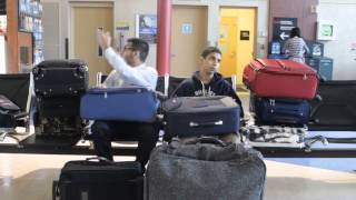 ZaidAliT - At the airport (White people vs Brown people)