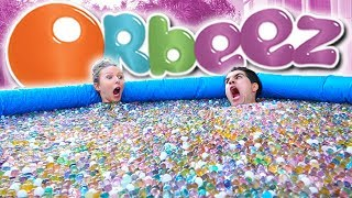 500,000+ ORBEEZ IN GIANT POOL! **EPIC EXPERIMENT**