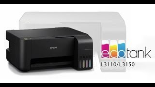 Ecotank Epson L3150 Wi Fi Unboxing with Complete