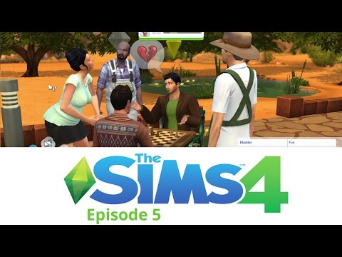 Mobius Plays The Sims 4: Ep 5 - Frog Breeding and Girlfriends - S4_5