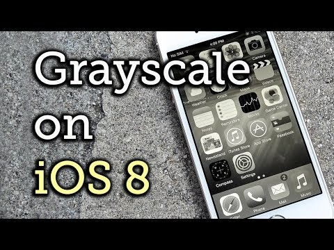 Enable Grayscale Mode on Your iPhone, iPad, or iPod touch - iOS 8 [How-To]