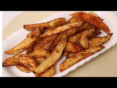 Spicy Roasted Potato Fries Recipe - Laura Vitale - Laura in the Kitchen Episode 425