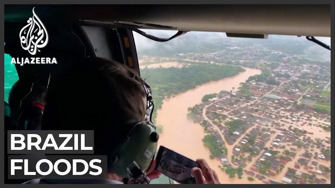 Floods in Brazilian state submerges entire neighbourhoods