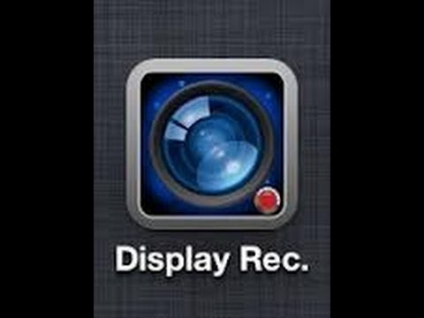 HOW TO GET DISPLAY RECORDER FOR FREE WITHOUT JAILBREAK (does not support ios 7)