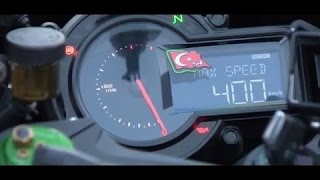 MOTORCYCLE WORLD SPEED RECORD 400 km/h