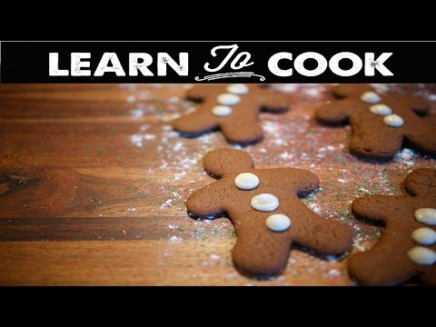 Learn To Cook: How To Make Gingerbread Cookies
