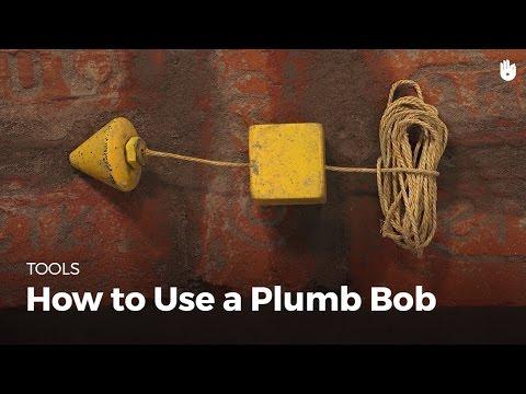 How to Use a Plumb Bob   Masonry