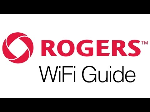 Rogers Canada - Change name and Password for Wifi Router