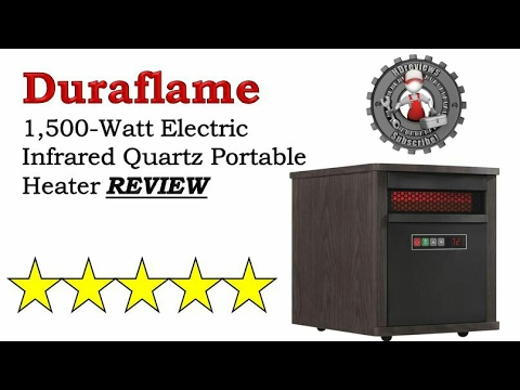 Keep your house warm with this Duraflame heater