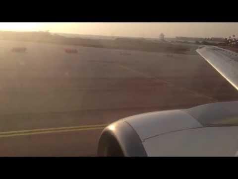 Tiara Air Boeing 737-300 Takeoff from Aruba to Ft. Lauderdale