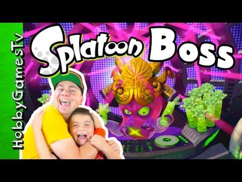Splatoon Boss Splatfeast Winner HobbyGamesTV